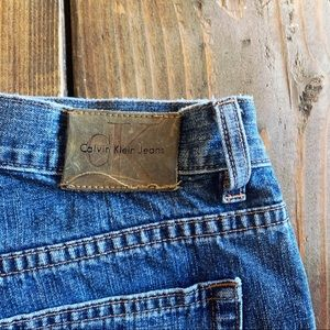High waisted bootcut vintage Calvin Klein jeans.